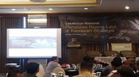 Lokakarya nasional penataan ruang laut di kawasan strategis (Foto:Merdeka.com/Dwi Aditya Putra)