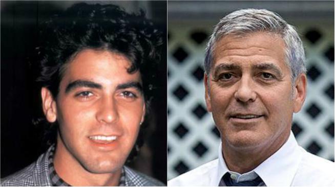 George Clooney. (Sumber Pinterest dan Wikimedia Commons)