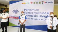 Program Sentra Vaksinasi Indonesia Bangkit (SVIB) kini dibuka di Medan, Sumatera Utara.