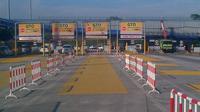 Gerbang Tol Cikunir II pagi ini (Liputan6.com/ Moch Harun Syah)