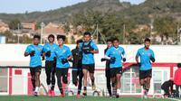 Pemusatan latihan Timnas Indonesia U-19 di Spanyol. (PSSI).