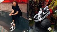 Koleksi Sneakers Hypebeast Najwa Shihab (sumber: instagram/najwashihab)