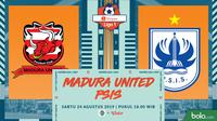 Shopee Liga 1 - Madura United Vs PSIS Semarang (Bola.com/Adreanus Titus)