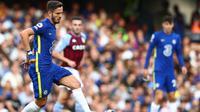 Chelsea dikabarkan menolak kesempatan untuk mempermanenkan Saul Niguez pada bursa transfer Januari 2022. (AFP/Adrian Dennis)