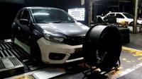 Modifikasi Brio Satya Turbo baru setengah jadi (IMX)