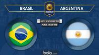 Persahabatan Internasional - Brasil Vs Argentina (Bola.com/Adreanus Titus)