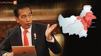 Banner Infografis Ibu Kota Baru Indonesia di Kalimantan Timur. (Liputan6.com/Triyasni)