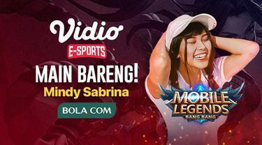 Berita video ayo ikuti lagi main bareng (Mabar) Mobile Legends: Bang Bang bersama e-sports influencer, Mindy Sabrina, yang berhadiah voucher Vidio Premium, pada Kamis (30/4/2020).
