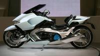 Suzuki G-Strider motor listrik konsep bertampang radikal.