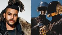 Daft Punk & The Weeknd (Foto: stoneyroads.com)