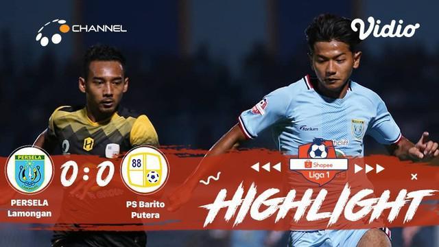 Babak Penyisihan #ShopeeLiga1 yang mempertemukan #Persela Lamongan vs #PS Barito Putera pada hari Senin malam (04/11/2019) berakhi...