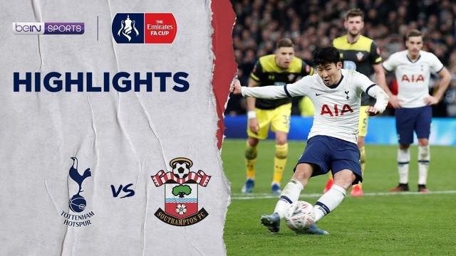 Berita Video Highlights Piala FA 2020, Tottenham Hotspur Vs Southampton 3-2