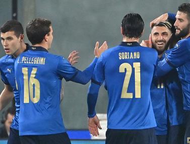 Italia Lumat Estonia 4-0 di Laga Uji Coba