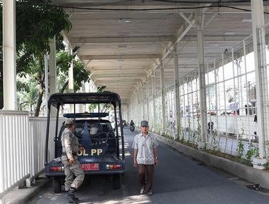 Kolong Skybridge Tanah Abang Bebas PKL