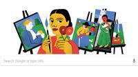 Paula Modersohn-Becker jadi Google Doodle hari ini, Kamis (8/2/2018)