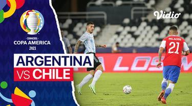 Berita video beragam momen penting yang terjadi pada laga Timnas Argentina kontra Chile di Grup A Copa America 2021, termasuk tendangan bebas Lionel Messi, Selasa (15/6/2021) dinihari WIB.