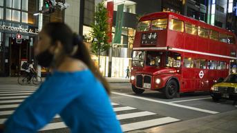 FOTO: Potret Suasana Distrik Perbelanjaan Ginza Tokyo