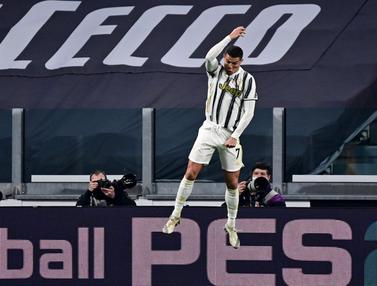 Ronaldo Dua Gol, Juventus Taklukkan Cagliari