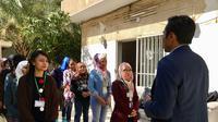 KBRI Damaskus memulangkan 13 TKI dari Suriah, dengan 10 di antaranya terindikasi korban TPPO (kredit Kemlu RI / 15-10-2019)