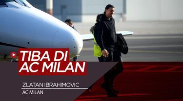 Berita Video Tiba di AC Milan, Zlatan Ibrahimovic Siap Bawa I Rossoneri Keluar dari Masa Suram