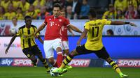 Mats Hummels. Bek Timnas Jerman ini dipinjamkan Bayern Munchen ke Borussia Dortmund pada tahun 2008, sebelum akhinya menjadi permanen pada musim 2009-2010. Sukses bersama Dortmund, kini sang pemain kembali ke The Bavarian. (AFP/Patrik Stollarz)