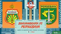 Shopee Liga 1 - Bhayangkara FC Vs Persebaya Surabaya (Bola.com/Adreanus Titus)