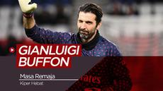 Kiper Paris Saint-Germain, Gianluigi Buffon. (Bola.com/Dody Iryawan)