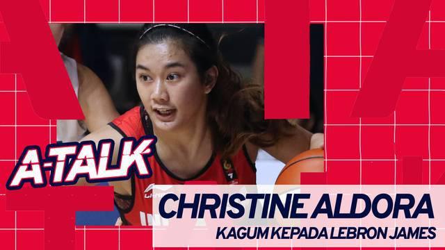 Berita video A-Talk kali ini mengangkat sosok atlet cantik dari dunia basket, Christine Aldora Tjundawan, yang punya kekaguman kepada LeBron James.