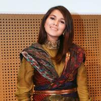 Nova Eliza di acara Suara Hati (Galih W. Satria/bintang.com)
