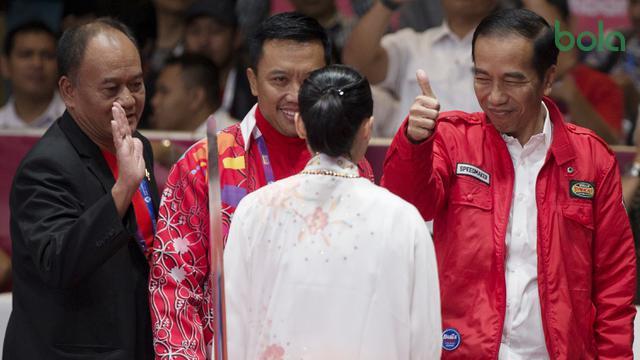 Wushu Putri Indonesia : Lindswell Kwok