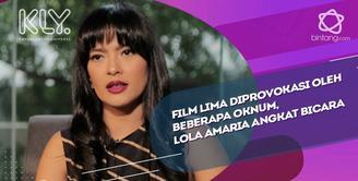 Sempat diprovokasi oleh beberapa oknum, Lola Amaria beri penjelasan.
