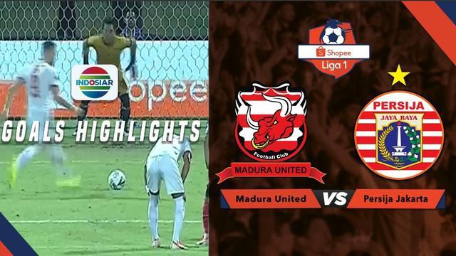 Berita video gol-gol yang tercipta pada pertandingan Shopee Liga 1 2019 antara Madura United melawan Persija Jakarta, Jumat (16/8/2019).