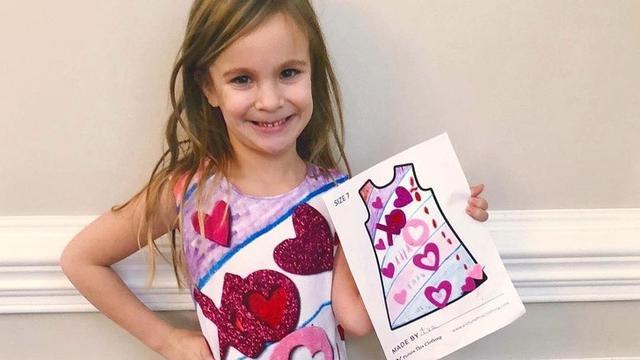 Picture This Clothing, perusahaan yang mewujudkan gambar anak ke kehidupan nyata.