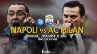 Napoli Vs AC Milan (Bola.com/Adreanus Titus)