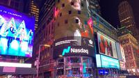 Videoklip musik Maruli Tampubolon terpampang di layar raksasa di Times Square (ist)
