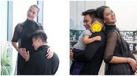 Baim Wong, Kiano Tiger Wong, temani Paula jalani maternity shoot. (Sumber: Instagram/baimpaulakiano.galeri)