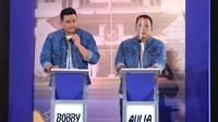 Paslon Wali Kota dan Wakil Wali Kota Medan,Bobby Nasution dan Aulia Rachman