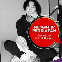 Yuk mengintip persiapan yang tengah dilakukan G-Dragon untuk comeback solo. (Instagram/xxxibgdrgn, Desain: Nurman Abdul Hakim/Bintang.com)