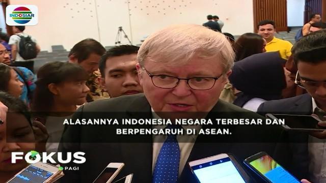 Indonesia akan memaparkan konsep Indo-Pasifik di Konferensi Tingkat Tinggi (KTT) Asean yang akan digelar pekan depan.