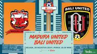 Liga 1 2019: Madura United vs Bali United. (Bola.com/Dody Iryawan)
