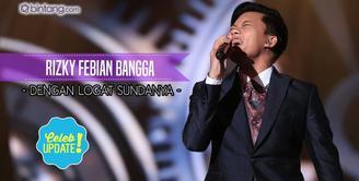 Rizky Febian ingin memberikan warna baru dan berbeda untuk musik Indonesia.