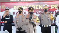 Kapolda Jateng, Irjen Ahmad Luthfi menjelaskan dari hasil penyidikan inafis labfor dipastikan bahwa ledakan yang menewaskan 4 orang di Kebumen. (Foto: Liputan6.com/Humas Polres Kebumen)