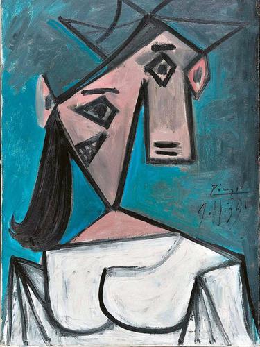 Lukisan Kepala Wanita Picasso