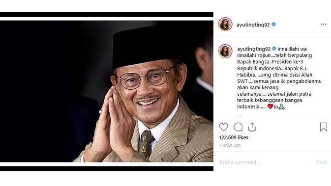 Ayu Ting Ting (Sumber: Instagram/ayutingting92)