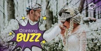 Hati-hati buat baper,ini sederet foto romantis pernikahan Jeje-Syahnaz.