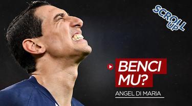 Berita video Scroll Up kali ini membahas pemain PSG, Angel Di Maria yang dikabarkan membenci klub asalnya yakni Manchester United.