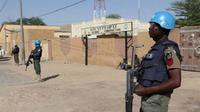 Pasukan Perdamaian PBB di Mali tengah berjaga di Timbuktu Mali (AFP)