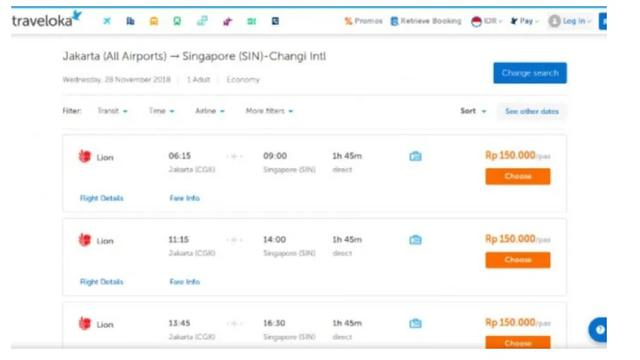 Heboh Tiket Lion Air Jakarta Singapura Rp 150 Ribu