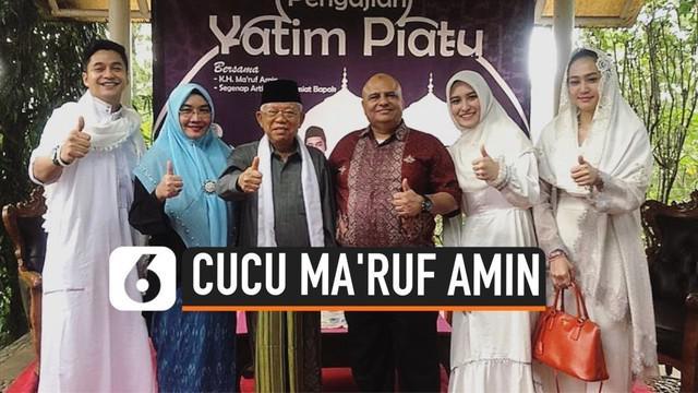 Pesinetron Adly Fairuz belakangan diketahui merupakan cucu dari Wakil Presiden Indonesia yang baru saja dilantik, yaitu Kyai Haji Ma'ruf Amin. Hal ini terkuak setelah momen kebersamaan Adly Fairuz bersama dengan Ma'ruf Amin diunggah ke media sosial.