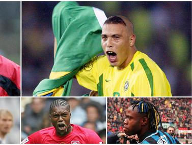 FOTO: 5 Pesepak Bola Top Dunia dengan Gaya Rambut Paling Nyentrik